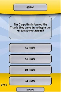 Titanic Movie Trivia Quiz