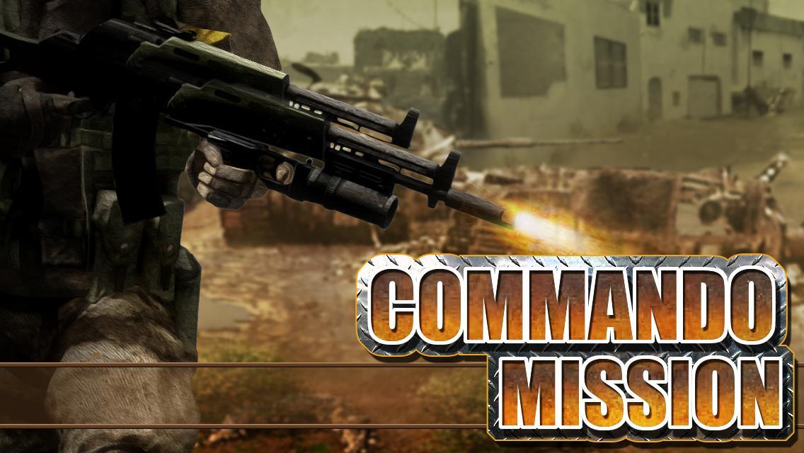 Download Commando Mission APK + Mod APK + Obb data 1 10 by Moong
