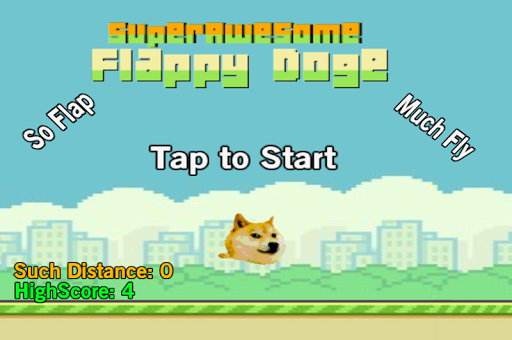 SuperAwesome Flappy Doge
