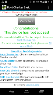 [Root Checker] Screenshot 4