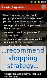 Top Shelf mixed-drinks recipes- screenshot thumbnail