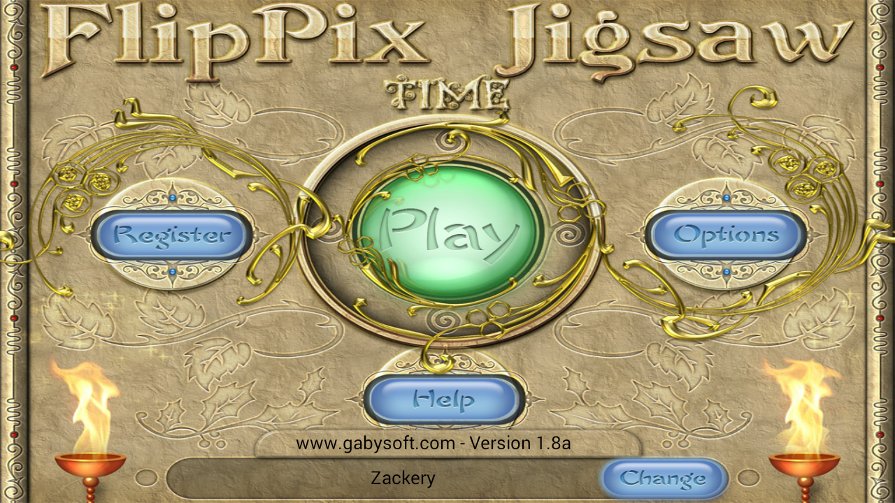 FlipPix Jigsaw - Time- screenshot