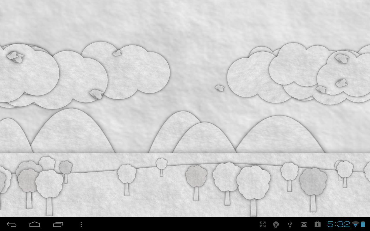 Paperland Live Wallpaper - screenshot