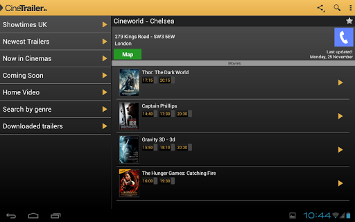 CineTrailer Cinema & Showtimes 4.0.46 screenshots 13