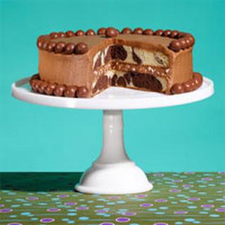 Malt Shop Marble Cake