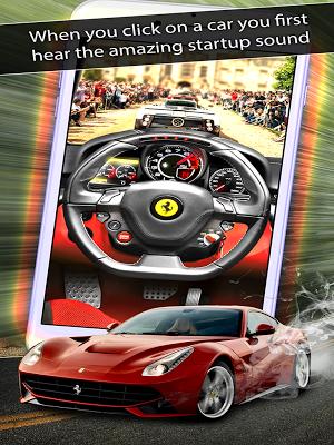 4 SuperCar Sounds App screenshot