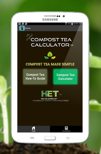 Compost Tea Calculator