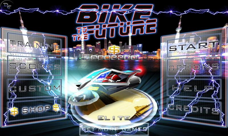 Bike to the Future Free - screenshot