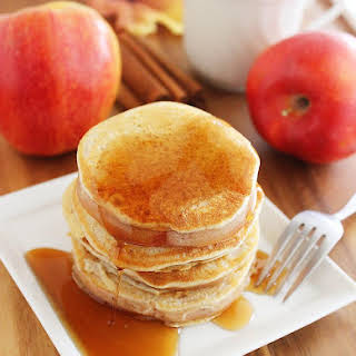 Apple Pancake Rings.