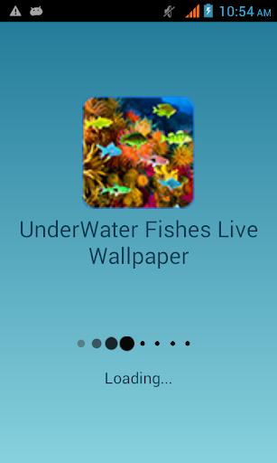 Under Water Fishes LWP