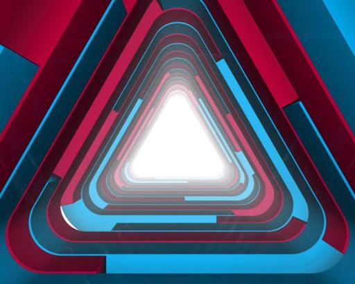 三角形動態壁紙