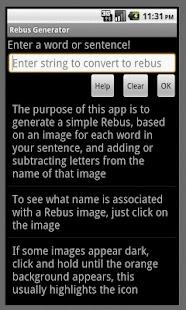 Rebus Generator- screenshot thumbnail