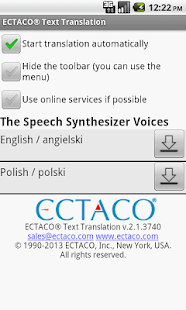 Polish Offline Translator - screenshot thumbnail