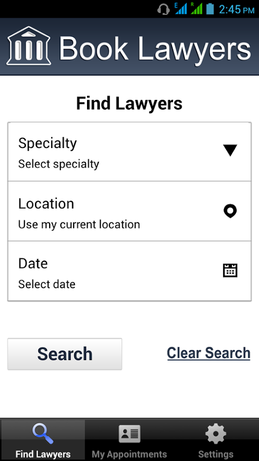 Book Lawyers- screenshot
