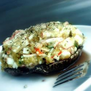 Delicious Crab Stuffed Mushrooms