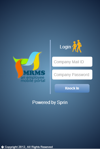 mrms app - screenshot