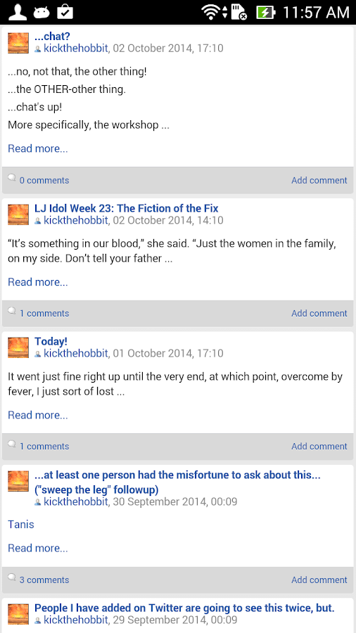 LiveJournal Classic- screenshot