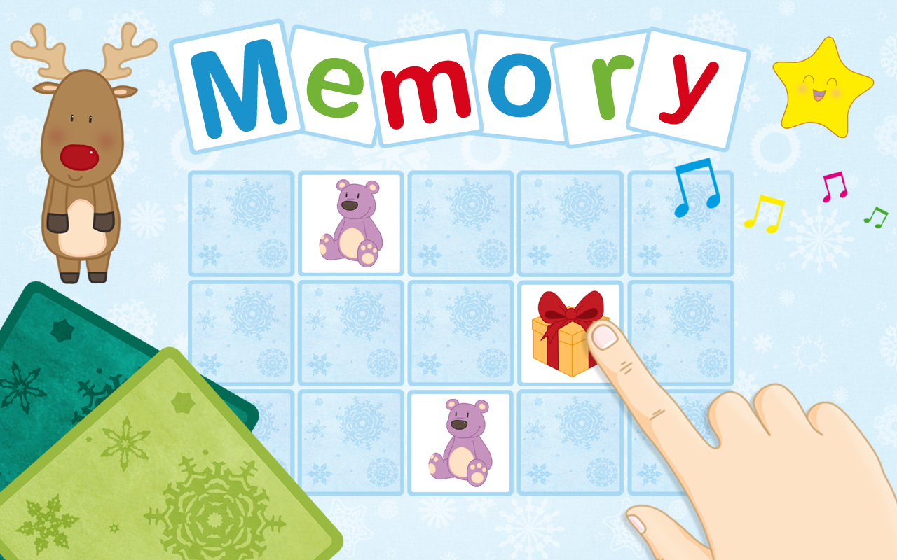 christmas memory game for kids android apps on google play. Black Bedroom Furniture Sets. Home Design Ideas
