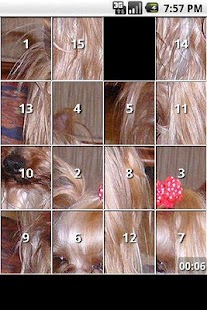 Yorkie Slide Puzzle iSlider- screenshot thumbnail