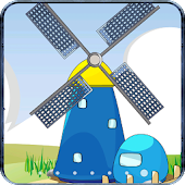 Cartoon Windmill LiveWallpaper