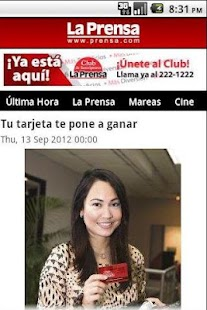 Diario La Prensa - screenshot thumbnail