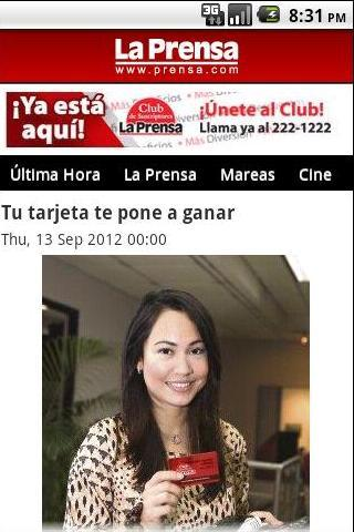 Diario La Prensa - screenshot