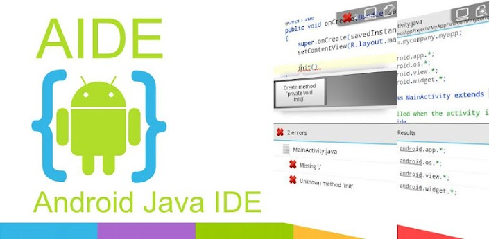 AIDE - Android IDE Java