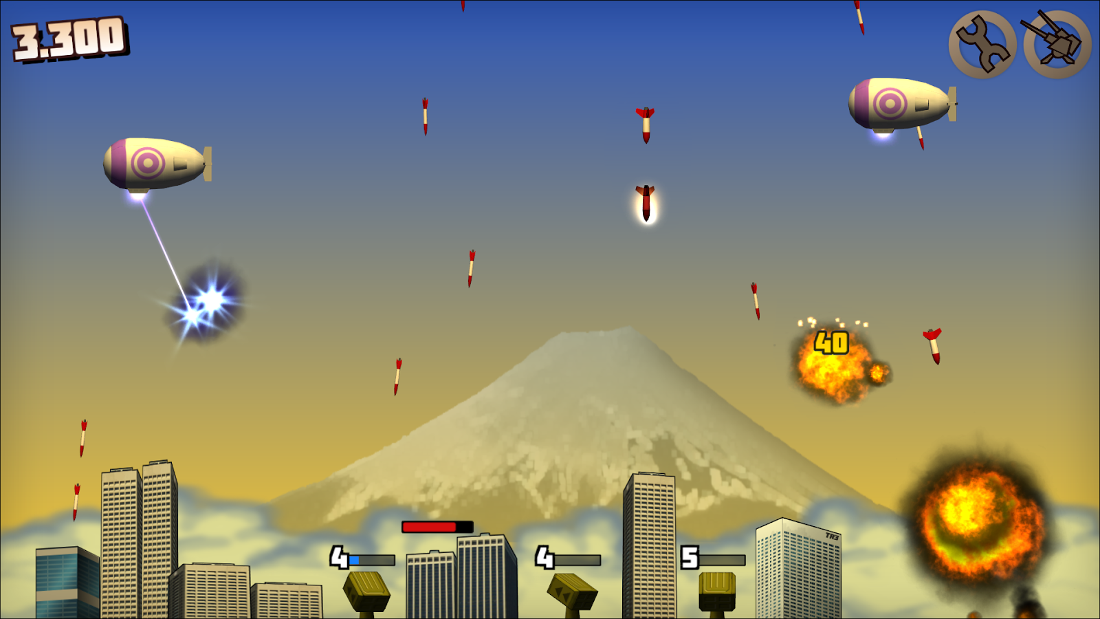 Rocket Crisis: Missile Defense- screenshot