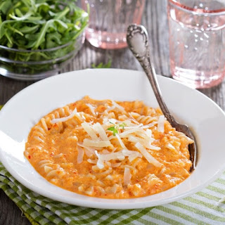 Pasta with Creamy Vodka Sauce
