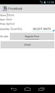Simple Pricebook- screenshot thumbnail