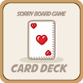 Sorry Board Game Cards