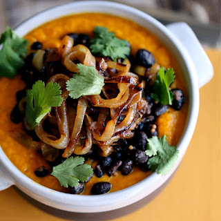 Southwest Carrot and Black Bean Soup