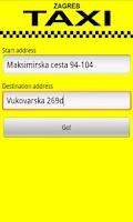 Screenshot of Zagreb Taxi Calculator