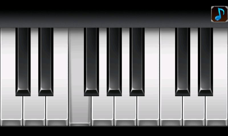 Cool Piano- screenshot
