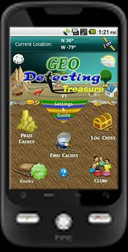 Geo Detecting Treasure