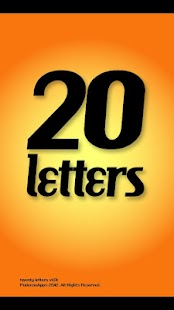 Twenty Letters - Word Game- screenshot thumbnail