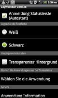 Screenshot of DayWeekBar Deutsch
