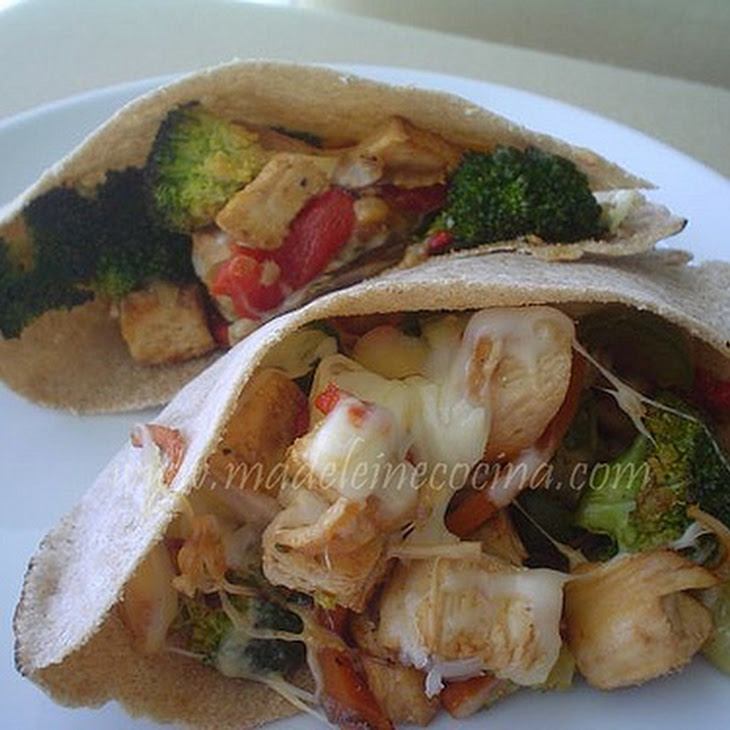 Vegetable and Chicken Pita Recipe