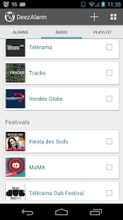 Deezalarm :Alarm with Deezer- screenshot thumbnail