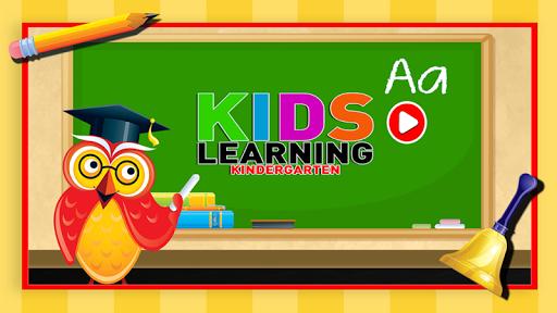 孩子学习幼儿园