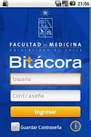 Screenshot of Bitácora Medicina UChile