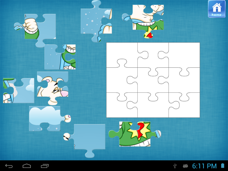 Polar Bear Jigsaw Puzzles - screenshot