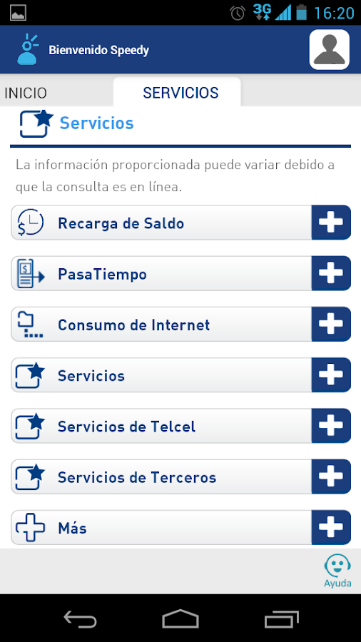 Mi Telcel - screenshot