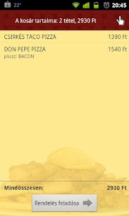 Pizza.hu - Food Ordering App- screenshot thumbnail