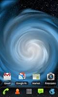 Screenshot of RLW Theme Galaxy Blue