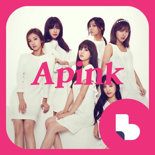 Apink Buzz Launcher Theme