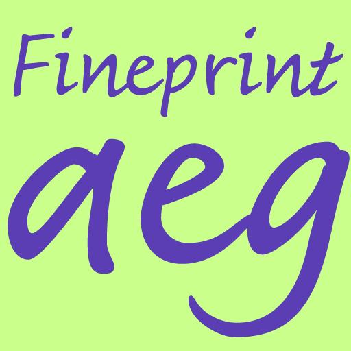 Fineprint FlipFont 個人化 App LOGO-APP試玩