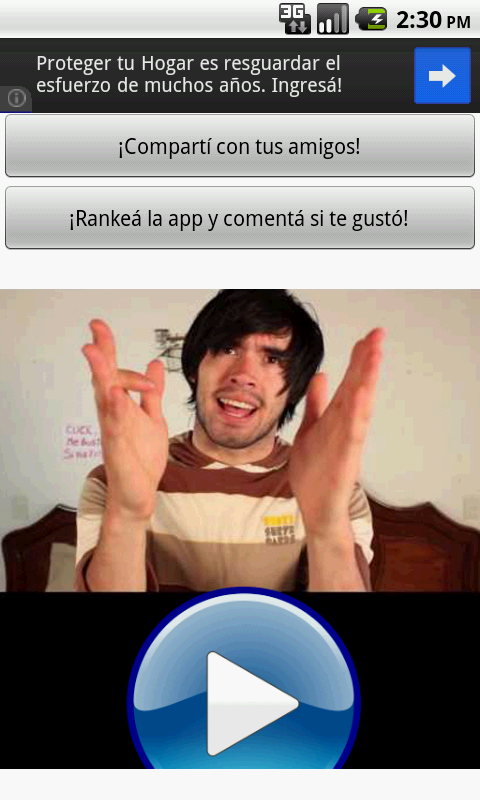 Hola soy German Fotos pal Face - screenshot