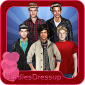 One direction - dressup game