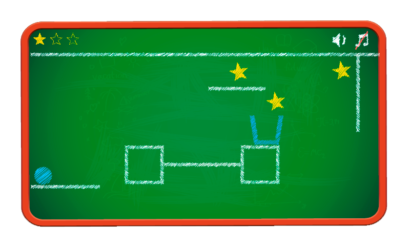 Chalk Ball Puzzle Deluxe- screenshot